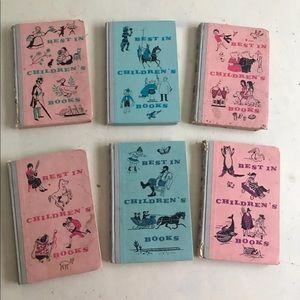 Best in children's Books Vintage 1958- 1960